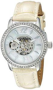 【送料無料】stuhrling original 85601 orologio da polso, donna, pelle, colore f2d