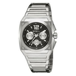 【送料無料】スチールシルバークロノマンウォッチギアorologio breil gear in acciaio silver chrono uomo tw0689