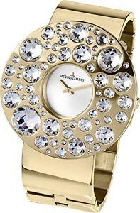 【送料無料】ジャックルマンステンレススチールカラーjacques lemans 11733e orologio da polso donna, acciaio inox, colore l5c