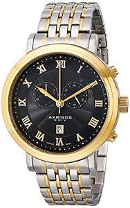 【送料無料】akribos ak590ttg orologio da polso da uomo k0s