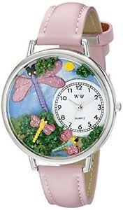 【送料無料】アナログスキンwhimsical watches orologio da polso, analogico al quarzo, pelle t9w