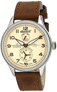 【送料無料】アナログスキンブラウンingersoll in3107scr orologio da polso analogico, pelle, marrone b2r