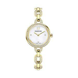 【送料無料】スワロフスキーミニウォッチトーンカフorologio swarovski aila mini 5253335 donna watch tono oro dorato bracciale