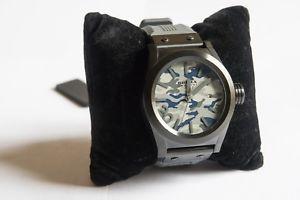 【送料無料】モディファイスティーブンクロックbrera mod brets45 orologio mimetico firmato sul fondello stephen gamson nuovo
