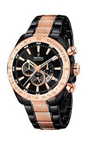 【送料無料】クロノグラフクアドラントfestina f168881 orologio da uomo al quarzo con quadrante cronografo c0p