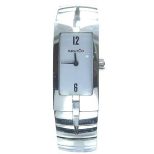 【送料無料】スチールセクタースタイリッシュorologio elegante da donna sector 3253480715 in acciaio anallergico