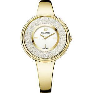 【送料無料】スワロフスキーorologio swarovski crystalline pure gold 5269253 donna watch pvd oro dorato