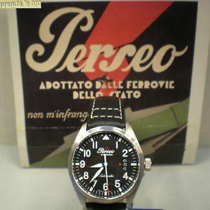 クロックペルセウススチールサブメートルシリーズプロセッサーorologio perseo acciaio automatico sub 50 mt aviatore serie speciale n11  5063
