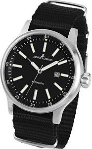 【送料無料】ジャックルマンポートjacques lemans porto automatic 11723d orologio da polso uomo v8p