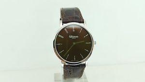 【送料無料】ジュネーブウルトラスリムブラウンスイスaltanus geneve orologio 7924 ultrapiatto 4,5mm marrone 3 atm swiss made watch