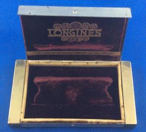 【送料無料】ボックスビンテージlongines box vintage old rare