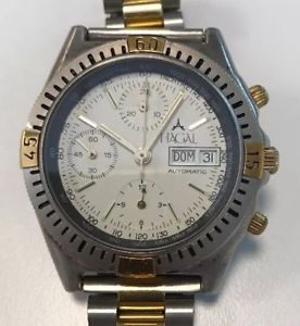 【送料無料】スイスクロノグラフhagal, automatic chronograph with valjoux 7750 swiss made