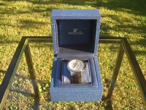 スワロフスキーピアッツァグランデクロックマンメンズボックスorologio uomo da polso swarovski piazza grande nuovo, mens wristwatch   box
