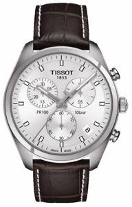 【送料無料】ティソクロノグラフtnuova inserzioneorologio watch tissot pr100 chronograph t1014171603100
