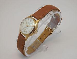 【送料無料】レディゴールドビンテージwertex orologio donna oro 18 kt vintage anni 60 woman gold wrist watch