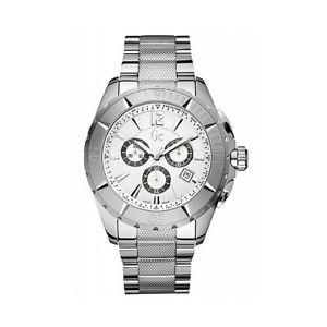 【送料無料】コレクションステンレスクロノグラフguess collection x53001g1s orologio cronografo da uomo in acciaio inossidabile