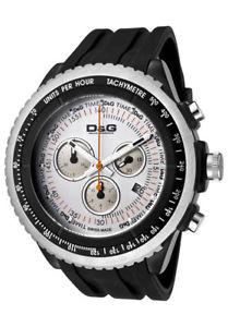 【送料無料】クロノdamp;g time orologio al quarzo chrono moddw0380 nuovo con garanzia