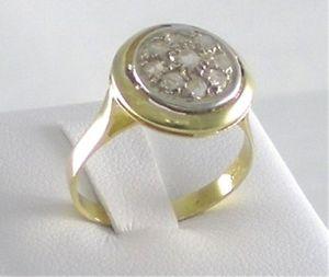 【送料無料】リングゴールドシルバーロゼットmignon anello oro argento rosette nuovo