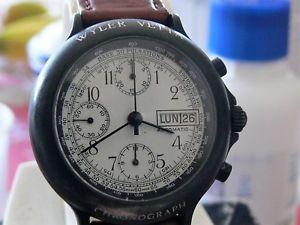 【送料無料】クロノグラフサミットクロノグラフダイバーcronografo willer vetta automatic chronograph diver 10 atm valjoux 7750