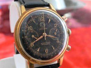クロノグラフドルヴィーナスクロノグラフゴールドゴールドマイクヴィンテージcronografo dollar venus 210 chronograph oro gold filled 20 mic vintage anni 60