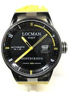 【送料無料】ウォッチモンテクリストゴムorologio locman montecristo automatico ref511gnn gomma 880 scontatissimo nuovo
