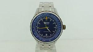 【送料無料】ジュネーブスチールスイスaltanus geneve orologio 7914b acciaio 3atm data automatico watch swiss made