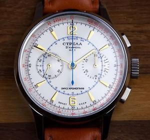 【送料無料】クロノグラフnuova inserzionetr40cy strela cronografo 40mm
