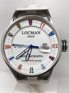 【送料無料】ウォッチモンテクリストゴムorologio locman montecristo automatico ref511ww gomma 850 scontatissimo nuovo