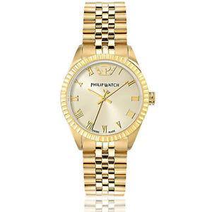 【送料無料】レディフィリップウォッチカリブレディオリジナルゴールドウォッチorologio donna philip watch prestige caribe lady 35 mm oro originale r8253597518:hokushin