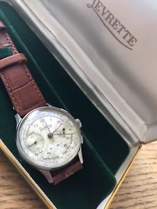 【送料無料】ビンテージウォッチultra rare vintage watch levrette landeron 39