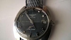 【送料無料】ウォッチlongines ultrachron automatic watch automatic funzionante