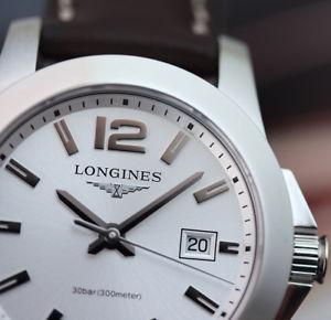 【送料無料】クロックnuovo orologio donna longines conquest l33764765 quarzo 29,5mm