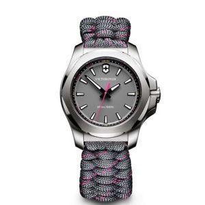【送料無料】レディースファブリックストラップデジタルクォーツvictorinox orologio da donna digitale al quarzo con cinturino in tessuto p4x