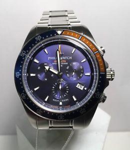 【送料無料】クロノグラフフィリップアシカcronografo philip watch sealion