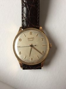 【送料無料】eberhard automatic, cal1500, 18 kt massive gold, vintage, perfect 2