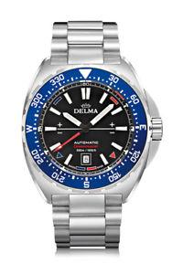 【送料無料】nuova inserzionedelma oceanmaster 417016706048 automatic blue