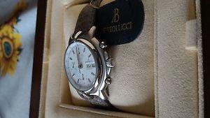 ベルトルッチクロノグラフスチールスイスbertolucci pulchra cronografo automatico acciaio swiss made valjoux 7750