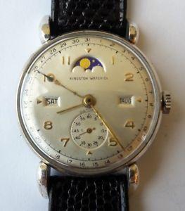 【送料無料】フルカレンダーフェーズkingston watch datofix calendario completo fasi lunari record watch