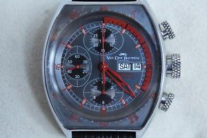 【送料無料】クロックヴァンデルグアテマラモデナマグナムクロノグラフスチールorologio van der bauwede gt1 modena magnum crono automatico 2006 acciaio