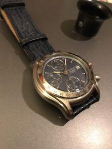 フィリップクロノグラフウォッチphilip watch sealander, valjoux7750 automatic chronograph, 200m, nos