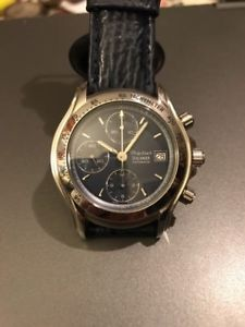 フィリップクロノグラフウォッチphilip watch sealander, valjoux7750 automatic chronograph, 200m, nos