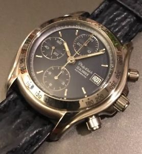 【送料無料】フィリップクロノグラフウォッチphilip watch sealander, valjoux7750 automatic chronograph, 200m, nos