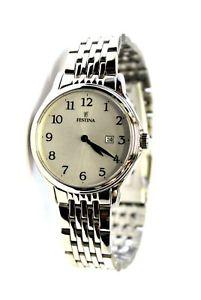 【送料無料】ウォッチウォッチorologio festina donna ragazza f167481 data acciaio water resistant watch