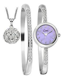 【送料無料】セットブレスレットペンダントチェーンlimit set regalo composto da orologio, bracciale e catena con pendente g5l