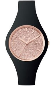 【送料無料】クロックシリコンorologio ice watch icegtbrgss15 nero silicone donna