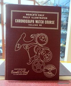 クロノイラストbook libro illustrato per montaggio orologio chrono longines