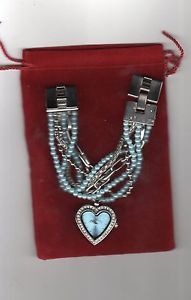 【送料無料】カフorologio con bracciale tipo perle p019 colore celeste