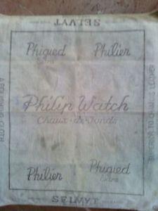 【送料無料】フィリップウォッチpanno lucida orologi con stampa philip watch