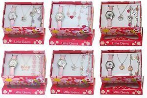 【送料無料】ravel little gems orologio bracciale e collana set