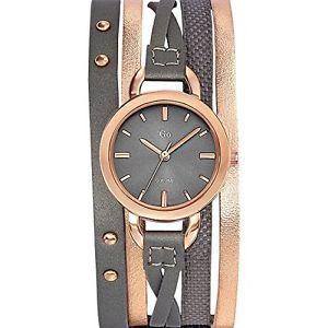 【送料無料】カラーgo girl only 698595 orologio da polso da donna, pelle, colore t4e